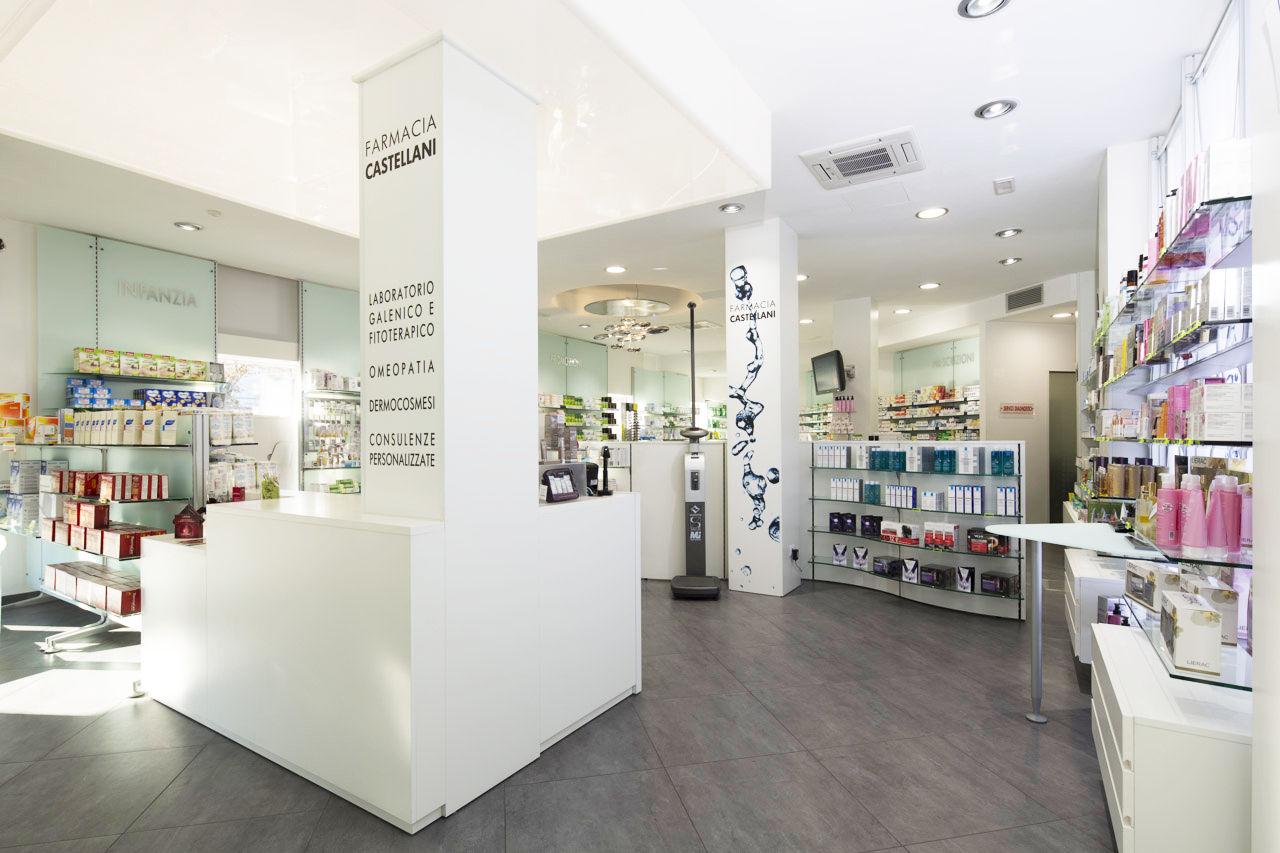 Farmacia castellani realizzazioni th kohl for Kohl arredamenti farmacie