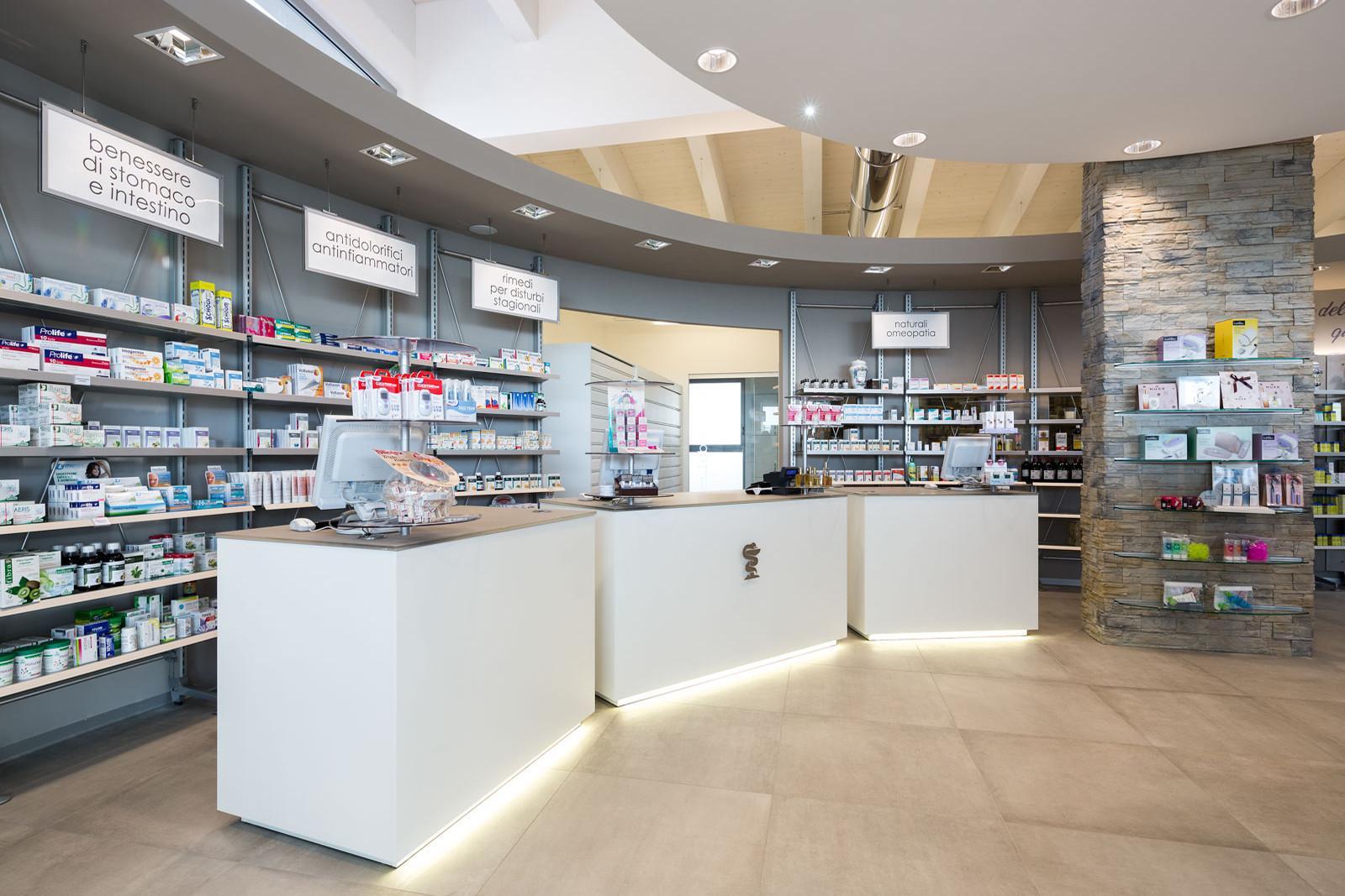 Arredamenti per farmacia le realizzazioni th kohl th kohl
