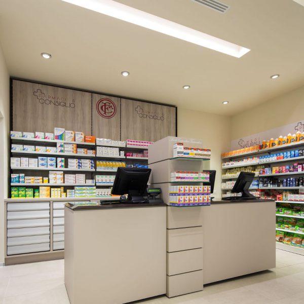 Farmacia Manzoni di Milano - banco prescrizioni
