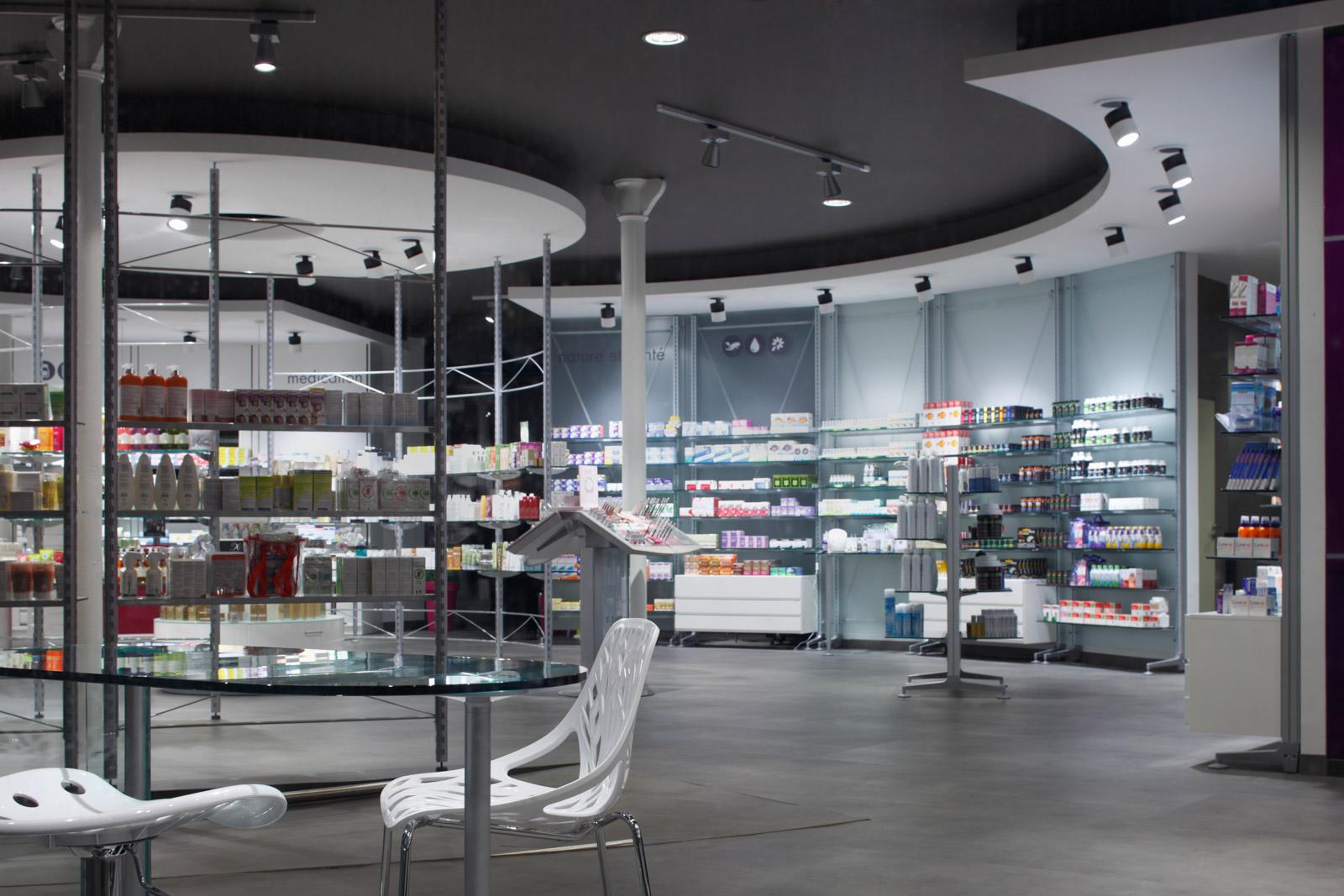 Pharmacie de la dentelle realizzazioni th kohl for Kohl arredamenti farmacie