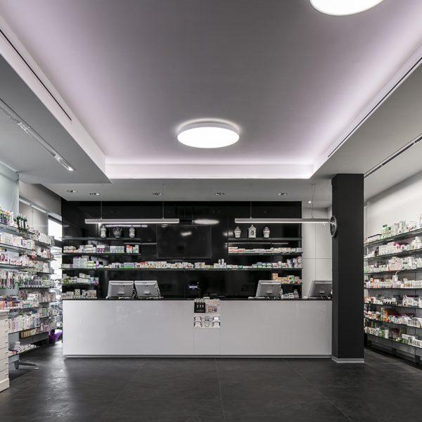Farmacia De Cecco, Anguillara - bancone