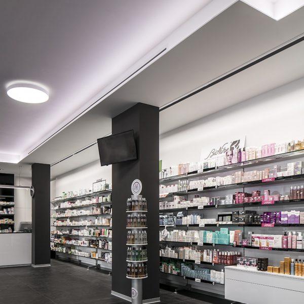 Farmacia De Cecco, Anguillara - particolare