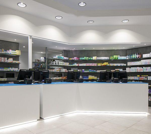Farmacia Massa, Genova - bancone