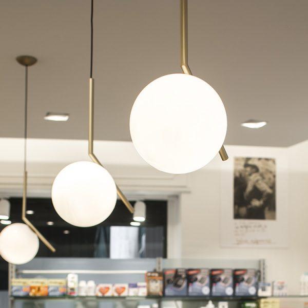 Farmacia Internazionale Storari, Gardone Riviera (BS) - illuminazione