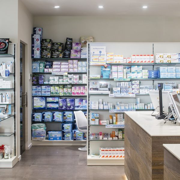 Farmacia del Sole, Bologna - arredo