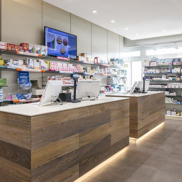 Farmacia del Sole, Bologna - bancone