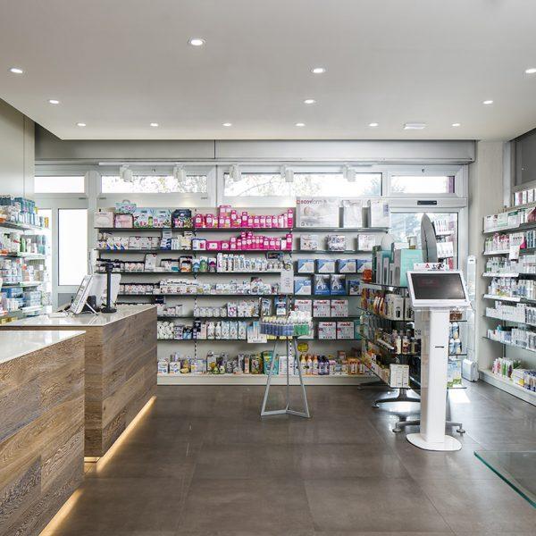 Farmacia del Sole, Bologna - aree merceologiche