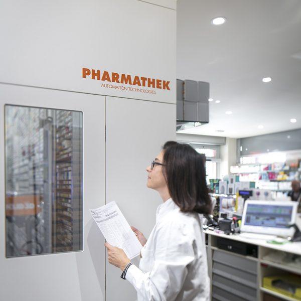Farmacia del Sole, Bologna - magazzino pharmathek