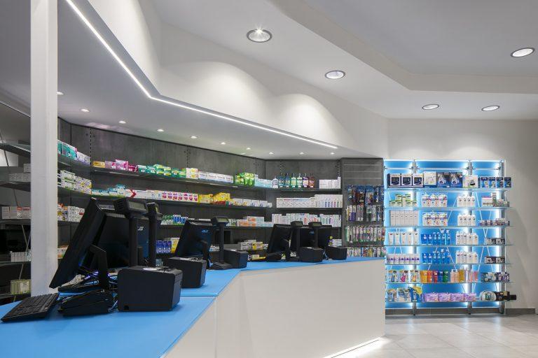 Farmacia Massa, Genova - particolare