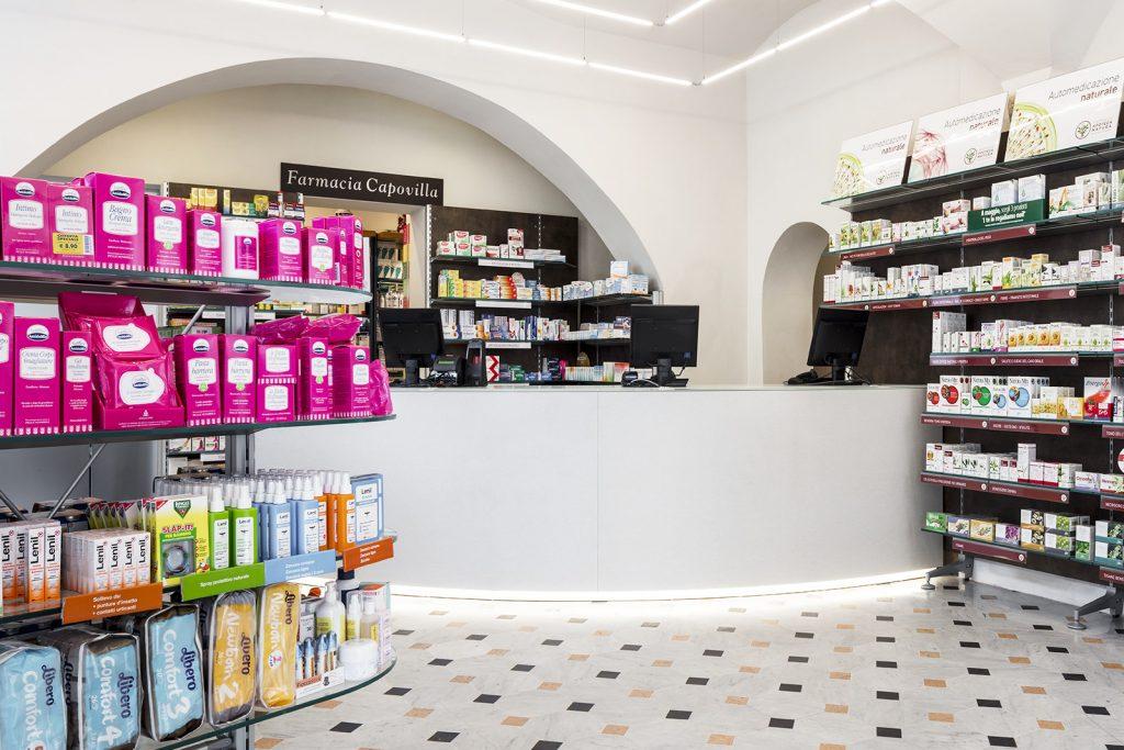 Farmacia Capovilla dr.ssa Capovilla, Imperia - bancone