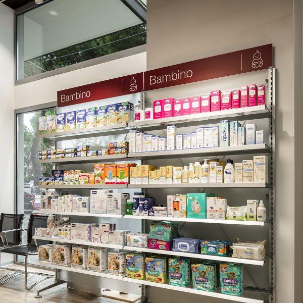 Farmacia Comunale Giotto di Arezzo - area infanzia