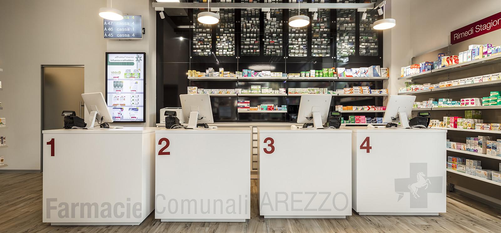 Farmacia Comunale Giotto di Arezzo