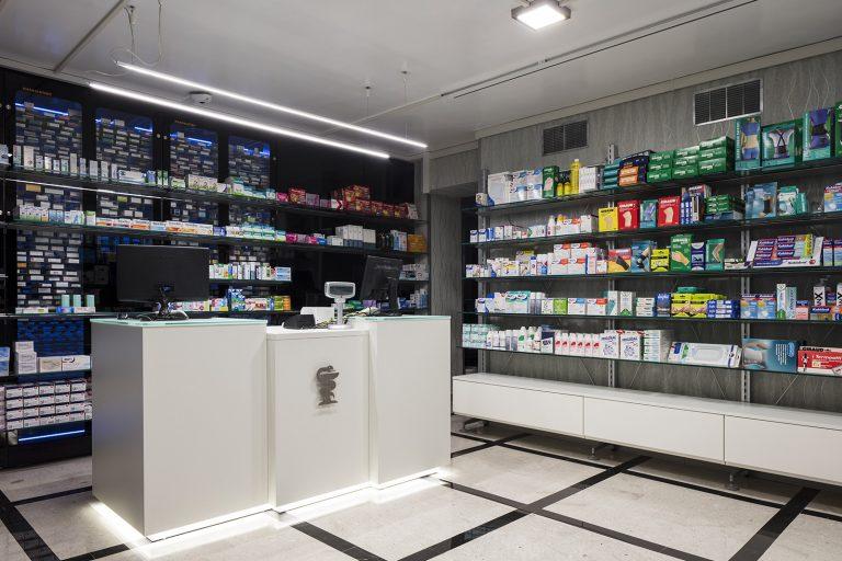 Farmacia Cunetta, Paterno - bancone