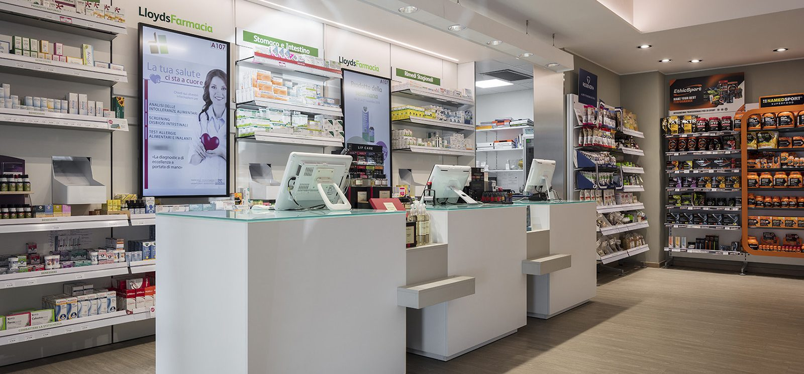 Farmacia San Martino dott. Genesi, Forlì - bancone