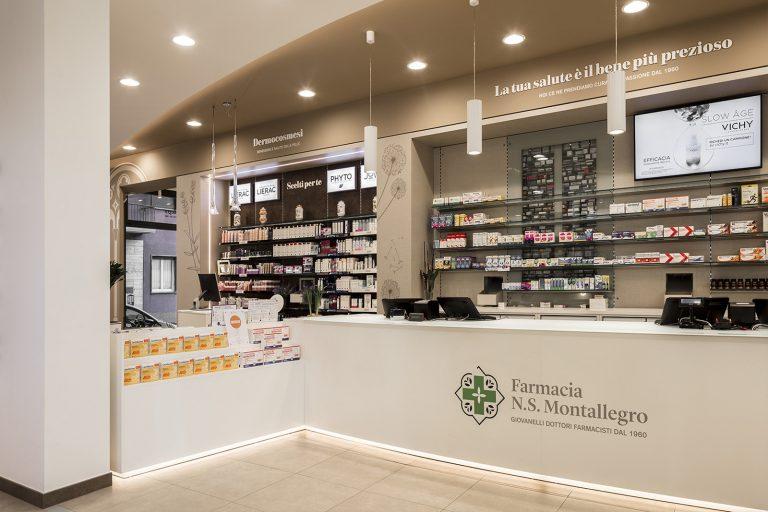 Farmacia N.S. Montallegro, Rapallo (GE) - bancone e robot
