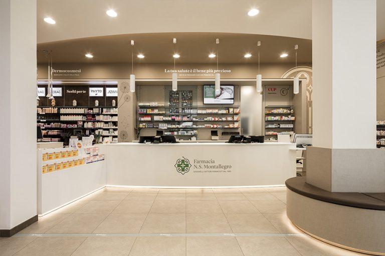 Farmacia N.S. Montallegro, Rapallo (GE) - bancone